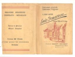 Jaquette Publicitaire Pour Livre - Librairie Louis DEMARTEAU à Liège - Dessin : La Sauvenière En 1839 - Buvards, Protège-cahiers Illustrés