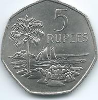 Seychelles - 1972 - Elizabeth II - 5 Rupees - KM19 - Seychelles