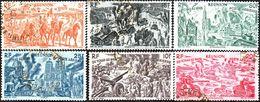Réunion Obl. N° PA 36 à 41 - Tchad Au Rhin - Strasbourg - Normandie - Roufra - Paris - Mareth - Réunion (1852-1975)