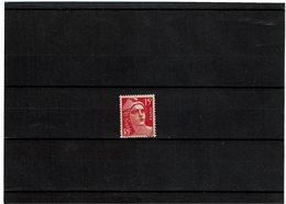 VARIETE - MARIANNE DE GANDON 15f FAUX DE MARSEILLE NEUF - 1945-54 Marianne Of Gandon