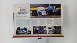 Ancienne Coupure De Presse Automobile Ligier-Renault JS 37 - Voitures (Courses)