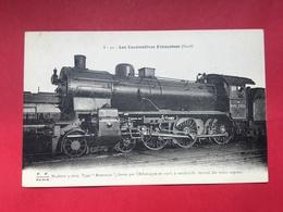 N°2048. LOCOMOTIVE A VAPEUR. SERIE « LES LOCOMOTIVES FRANCAISES – NORD ». MACHINE 3.1609 TYPE ARMISTICE LIVREE PAR - Trains
