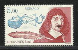 MONACO , 5.00 Frs , René Descartes D'après F. Hals , 1996 , N° YT 2067 , NEUF ** - Unused Stamps