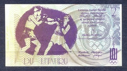 Lithuania - 1991 -.2 Litauru..olimpic.. UNC - Lituania