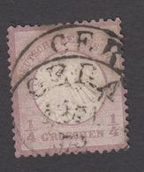 Deutsches Reich 1872, Brustschild Nr 1  Gestempelt - Oblitérés