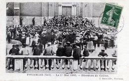 59  FOURMIES  1er  MAI 1891  DISCOURS DE CULINE - Fourmies