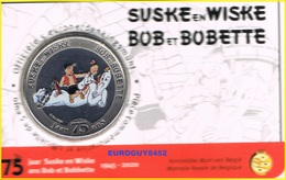 BELGIE - COINCARD 5 € 2020 BU - 75 JAAR SUSKE EN WISKE/BOB ET BOBETTE - GEKLEURD - Belgium