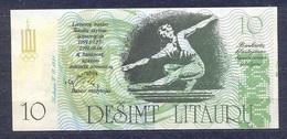 Lithuania - 1991 -.10 Litauru...olimpic.. UNC - Lituania