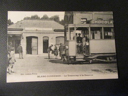 BLANC MISSERON- LE TRAMWAY A LA DOUANE - Other Municipalities