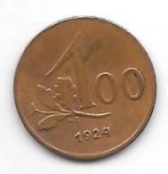*austria 100 Kronen 1924 Km 2832  Vf+ - Austria