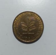 Germania  10 Pfennig 1984 - [ 6] 1949-1990 : RDA - Rep. Dem. Alemana