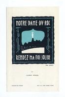 Lucerna Ardens N° 151, Par Fra Nodet, Notre-Dane Du Roc, Rendez Ma Foi Solide, Scout, Scoutisme - Images Religieuses
