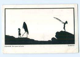 Y7657/ Diefenbach Künstler AK 1911 Schattenbild   - Künstlerkarten