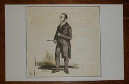 Le Notaire.1853. - Estampes & Gravures