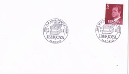 36499. Carta MADRID 1988,  IBERJOYA, Salon De Joyeria, Relojeria Y Plateria - 1931-Hoy: 2ª República - ... Juan Carlos I