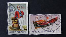 Mozambique - 1964 - Mi:MZ 519,521 Sn:MZ 460,462 Yt:MZ 515,517 O - Look Scan - Mosambik