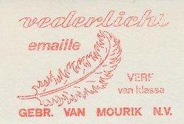 Meter Cut Netherlands 1968 Feather - Enamel - Vogels