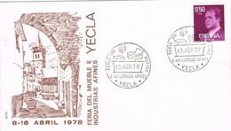 36501. Carta YECLA (Murcia) 1978. Feria Del Mueble - 1931-Hoy: 2ª República - ... Juan Carlos I