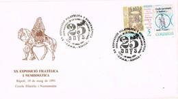 36502. Carta RIPOLL (Gerona) 1991. Festa Casament De Pages. Boda Rural - 1931-Hoy: 2ª República - ... Juan Carlos I