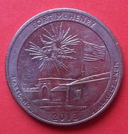 - USA - Etats Unis - Quarter Dollar - Maryland - 2013 - - United States