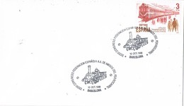 36503. Carta BARCELONA 1998. FERROCARRIL. Tren. Congreso Federacion Amigos Ferrocarril - 1931-Hoy: 2ª República - ... Juan Carlos I