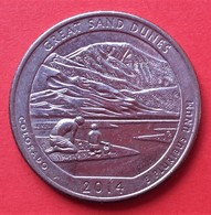 - USA - Etats Unis - Quarter Dollar - Colorado - 2014 - - United States