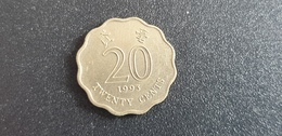 HONG KONG : 20 Cents 1993 - Hong Kong