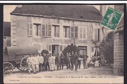 VIVIERS ( 10 - Aube ) Occupation De La Maison De M. Léon Contier ( Maire ) Par Les Troupes ( Militaires ) - TTB Etat - Frankrijk