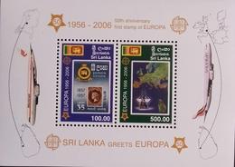 Sri Lanka Europa-CEPT 2006 Mi S/S Nr  102 , MNH/** - 2006