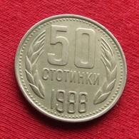 Bulgária 50 Stotinki 1988 KM# 89 Bulgarie Bulgarije Bulgarien - Bulgarije