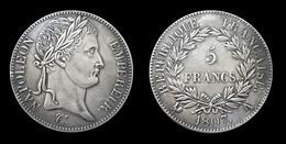 COPIE - Pièce Plaquée ARGENT ( SILVER Plated Coin ) - France - 5 Francs Napoléon 1807 A - France