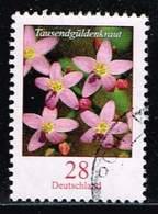 Bund 2014,Michel# 3088 O Blumen: Tausendgüldenkraut - [7] Federal Republic
