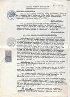 Contrat De VENTE IMMOBILIERE -TUNISIE -Protectorat Français 1953 -BIZERTE TUNIS - Sté Immobilière Du Nord -papier Filigr - Autres