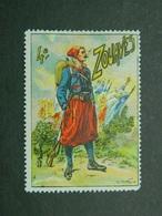 Vignette Militaire Delandre 4ème Zouaves - Vignette Militari