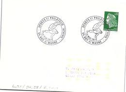 SPORTS  -  SPORTS ET PHILATELIE - APHIVIL - 13 MAI 1973 BRY S/ MARNE  / 1 - Marcofilia (sobres)