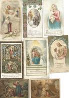 Lot Image Pieuse - 8 Images (datées Pour Certaines 1907 1911) - Imágenes Religiosas