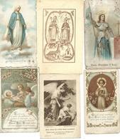 Lot Images Pieuses - 6 Images - Imágenes Religiosas