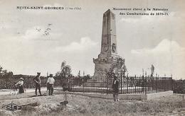 21)  NUITS SAINT GEORGES  -  Monument élévé à La Mémoire Des Combattants De 1870 / 71 - Nuits Saint Georges