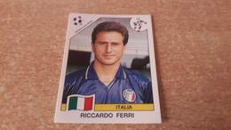 Figurina Panini WM Italia 90 - 044 Ferri Italia - Panini
