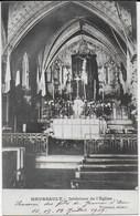 Meursault - Intérieur De L'église - CPA Datée De Juillet 1909 - Meursault