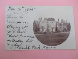 Carte Photo_BOURNEMOUTH_Royal Bath Hotel_voyagé En 1905 - Bournemouth (desde 1972)