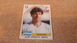 Figurina Panini WM Italia 90 - 119 Simon Argentina - Panini