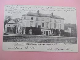 Northern Ireland Down_postcard Photo_MONTALTO - BALLYNAHINCH_voyagé En 1907 - Down
