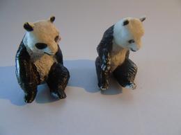 2 Pandas Panda Circus Cirque Zoo - Zonder Classificatie