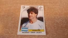 Figurina Panini WM Italia 90 - 123 Giusti Argentina - Panini