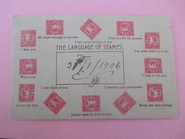 THE LANGUAGE OF STAMPS_voyagé Le 21 Janvier 1906_belle Philatélie - Ohne Zuordnung