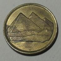 1994 - Egypte - Egypt - 1404 - 5 PIASTRES, Pyramide De Gizeh, KM 622.1 - Egypte