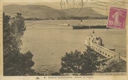 St Mandrier - Creux St Georges - Phare Habité (Idéal Agrandissement) ** Belle Cpa De 1935 ** Ed Cap N°85 - Saint-Mandrier-sur-Mer