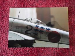 CAGI5 Format Carte Postale Env 15x10cm : SUPERBE (TIRAGE UNIQUE) PHOTO MAQUETTE PLASTIQUE 1/48e AVION JAP' KI-44 TOJO - Vliegtuigen