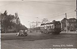Voorburg Parkweg Met Tram - Voorburg